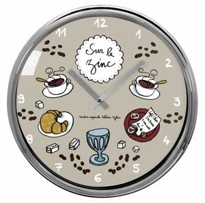 D co derri re la porte horloges murales for Horloge cuisine originale